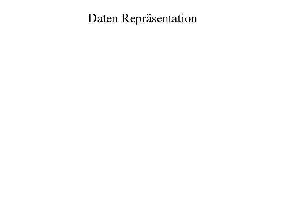 Daten Repräsentation