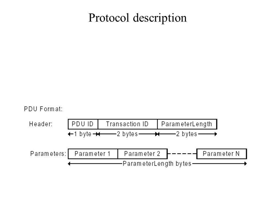 Protocol description