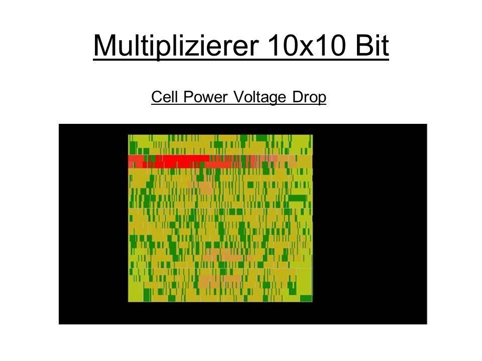 Multiplizierer 10x10 Bit Wire Current