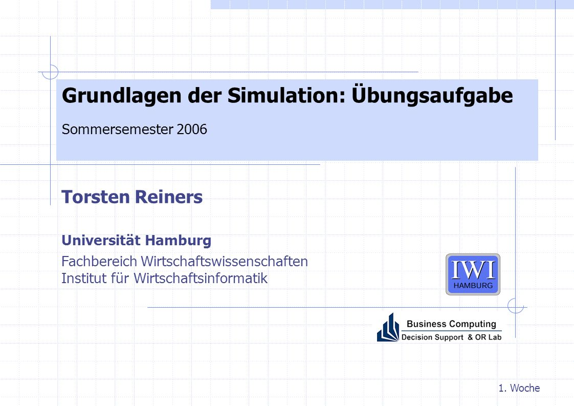 1-2 d Grundlagen der Simulation eM-Plant Zugang