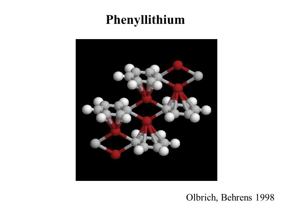 Phenyllithium Olbrich, Behrens 1998