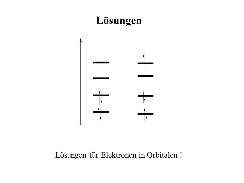 Dichtefunktionaltheorie Neuer Ansatz : Anstatt Elektronendichte aus (aus Schrödinger Gleichung) zu gewinnen, könnte man direkt (r) ausrechnen (Thomas, Fermi) Sinnvoll für größere Systeme !!!