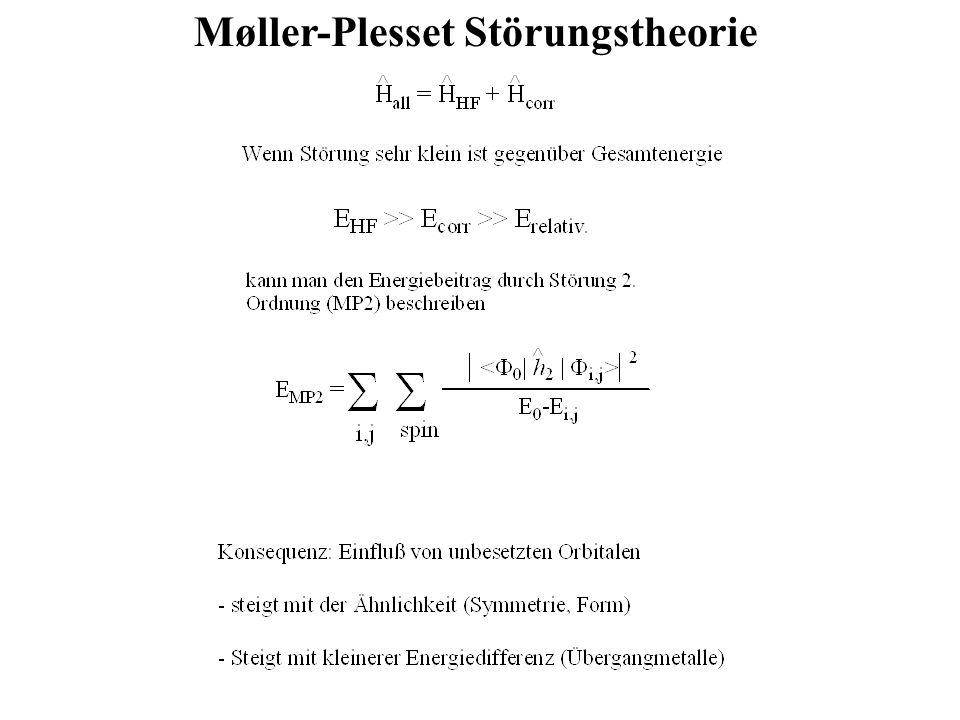 Møller-Plesset Störungstheorie