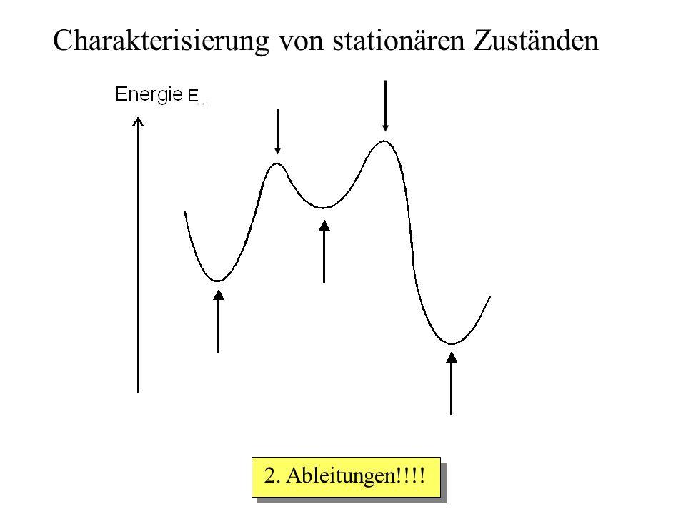 Charakterisierung von stationären Zuständen 2. Ableitungen!!!!