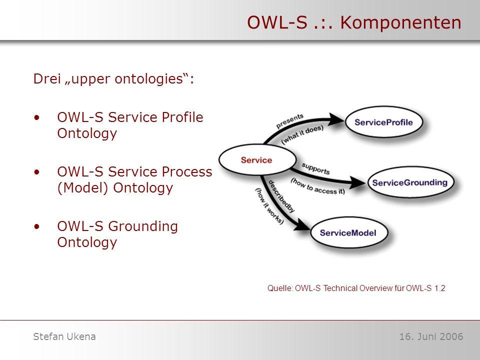 16. Juni 2006Stefan Ukena OWL-S.:.