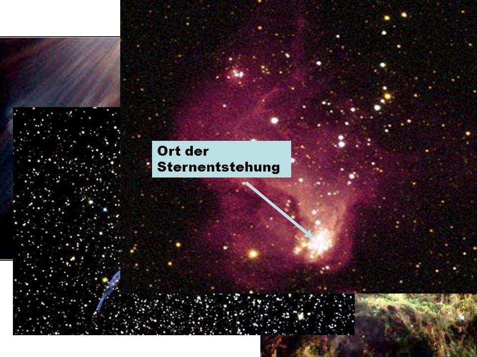 Interstellare Wasserstoffwolken Ort der Sternentstehung