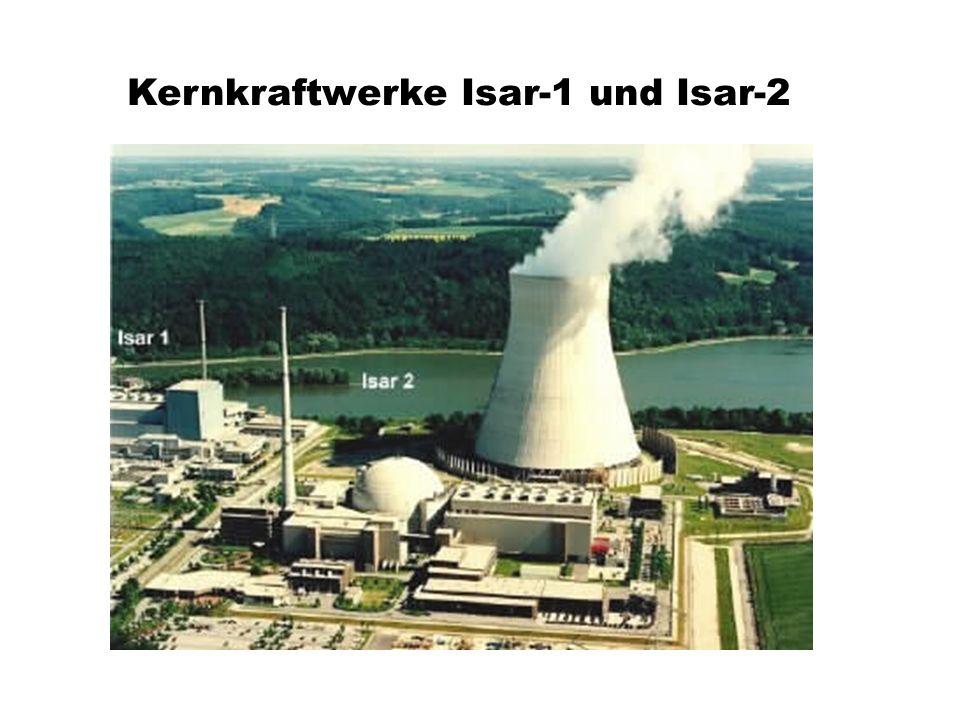 Kernkraftwerke Isar-1 und Isar-2
