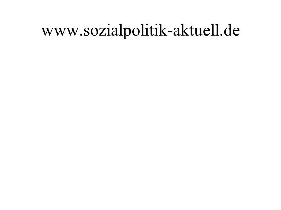 www.sozialpolitik-aktuell.de