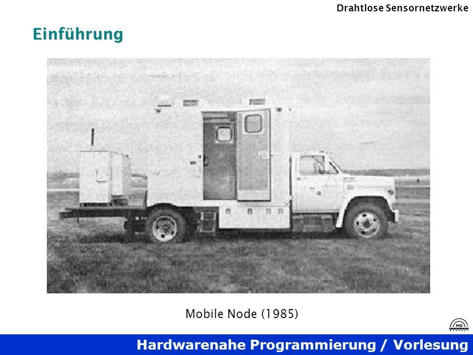 Hardwarenahe Programmierung / Vorlesung Drahtlose SensornetzwerkeEinführung Mobile Node (1985)