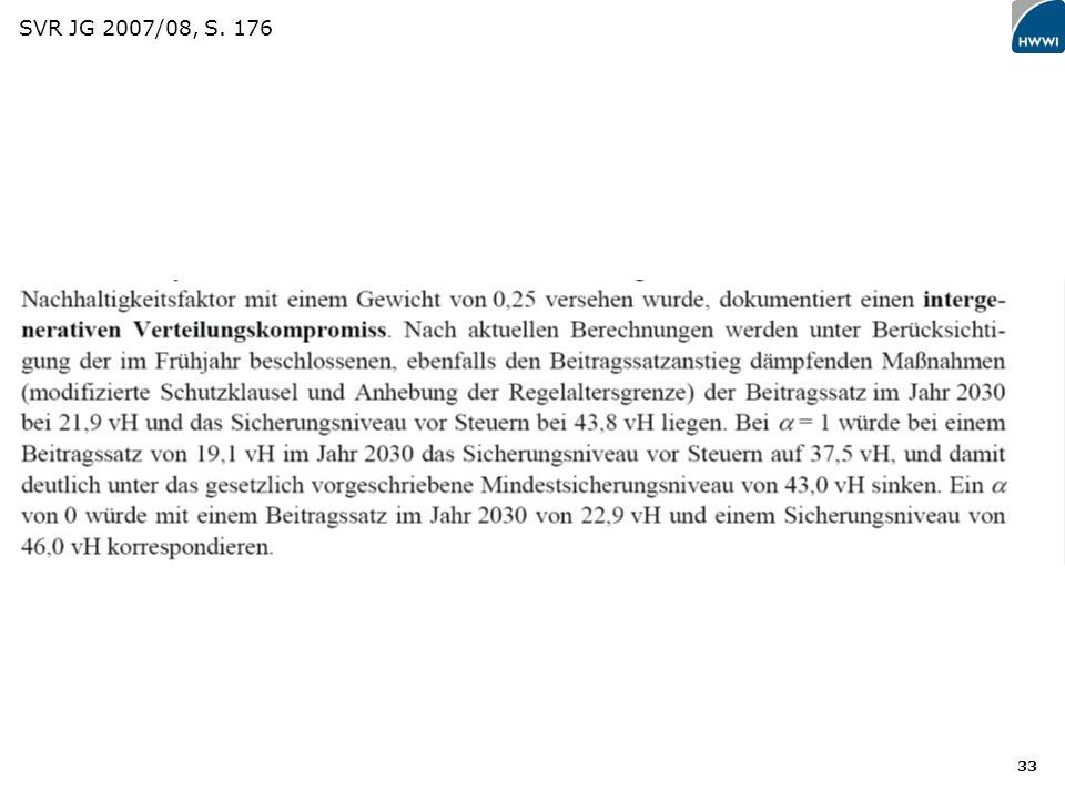 33 SVR JG 2007/08, S. 176