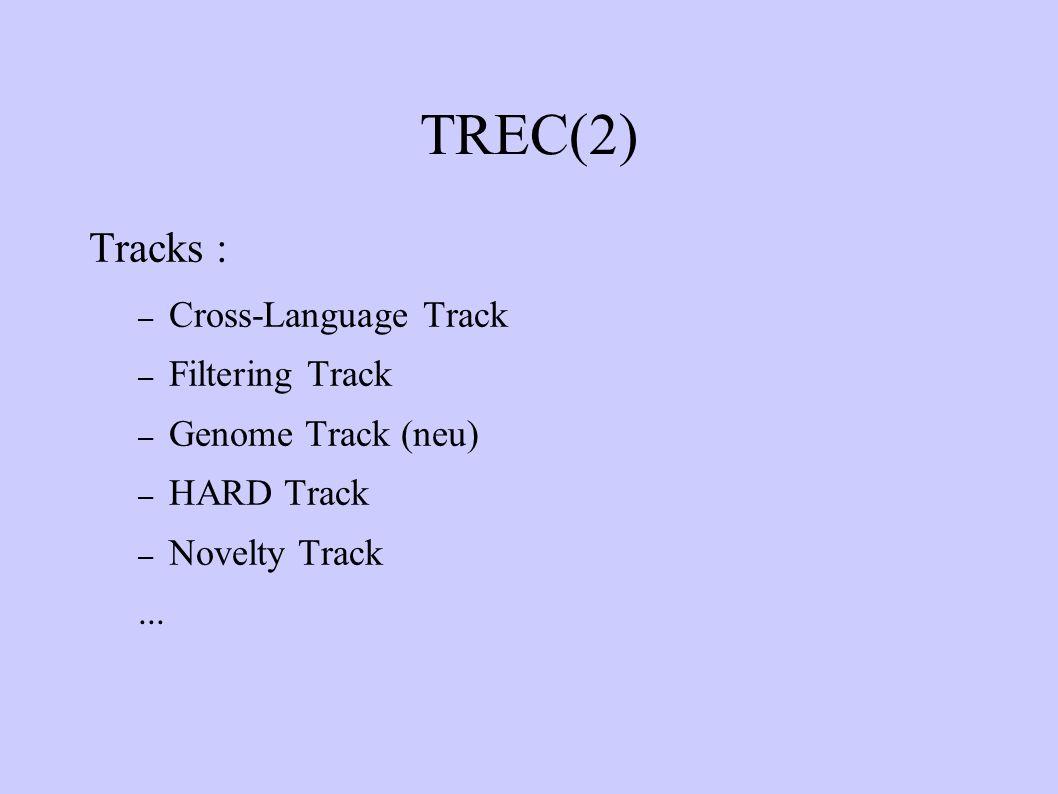 ACE (Automatic Content Extraction) Ziel: Entwicklung von ACE Systeme zur Unterstützung der automatischen Verarbeitung der natürlichen Sprache in textuellem Format ACE Systeme: Detektion und Charakterisierung von Entitäten, Relation und Ereignisse Drei Eingaben: – newswire – broadcast news – newspaper