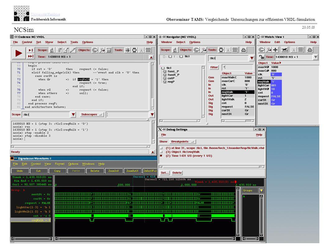 45 / 35 AB TAMS Technische Aspekte Multimodaler Systeme Universität Hamburg Fachbereich Informatik Oberseminar TAMS: Vergleichende Untersuchungen zur