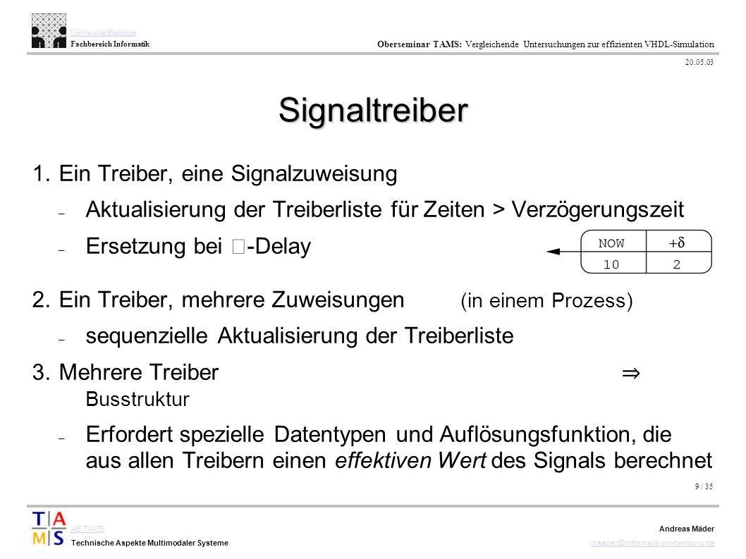 9 / 35 AB TAMS Technische Aspekte Multimodaler Systeme Universität Hamburg Fachbereich Informatik Oberseminar TAMS: Vergleichende Untersuchungen zur e