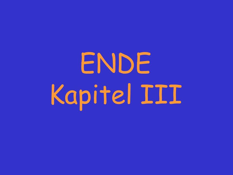 ENDE Kapitel III