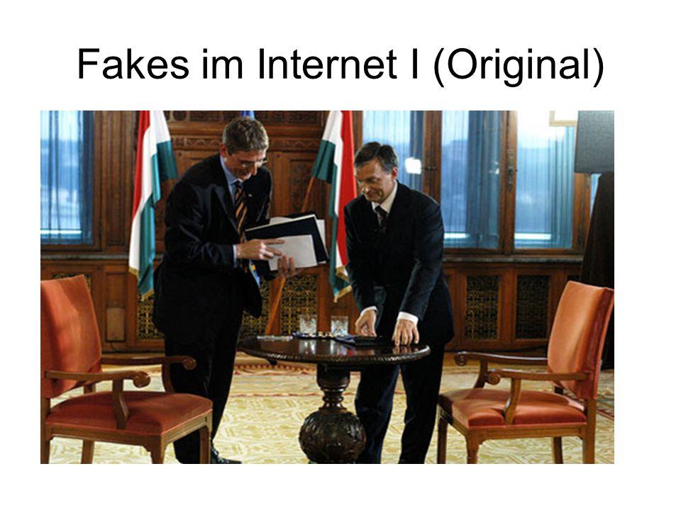 Fakes im Internet I (Original)