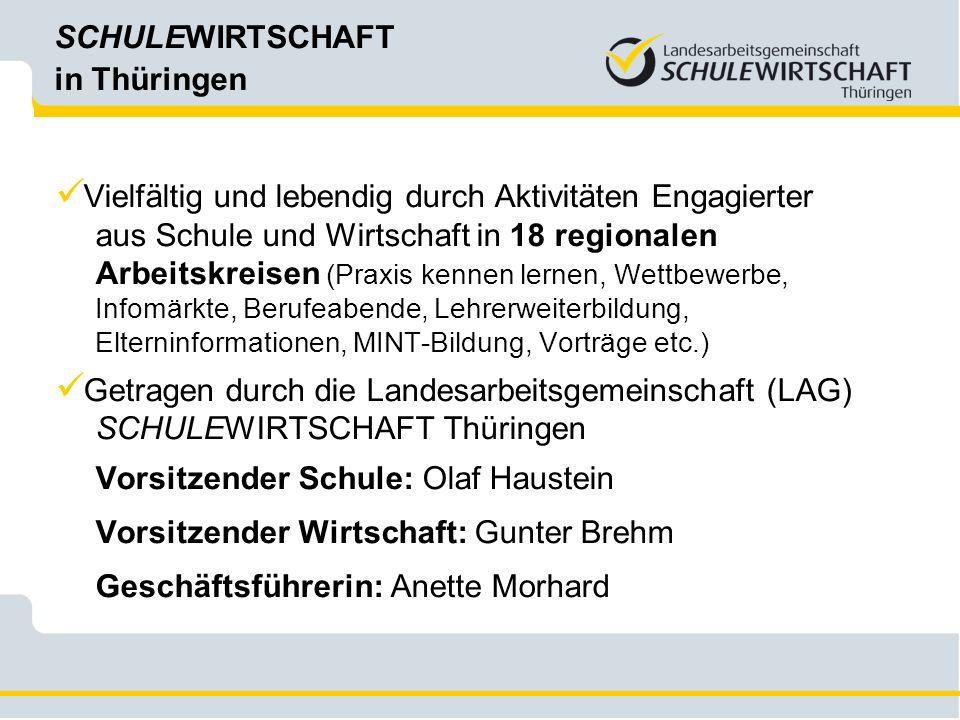 SCHULEWIRTSCHAFT in Thüringen vor Ort