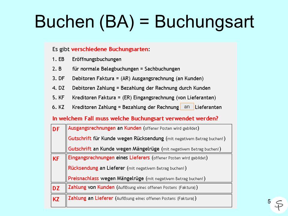 6 Buchen / Buchen / Stapelbuchung Wichtig: Stets Buchungsmonat eingeben ( Periode ) Bei DF / KF stets Faktura überprüfen!!.