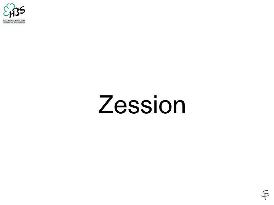 Zession