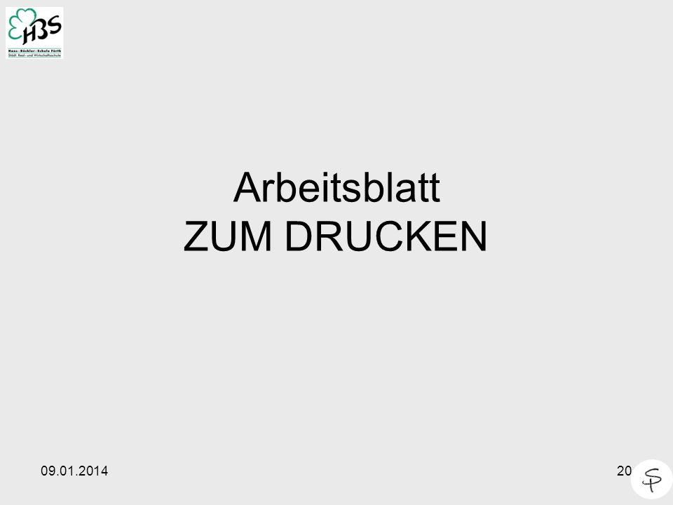 09.01.201420 Arbeitsblatt ZUM DRUCKEN