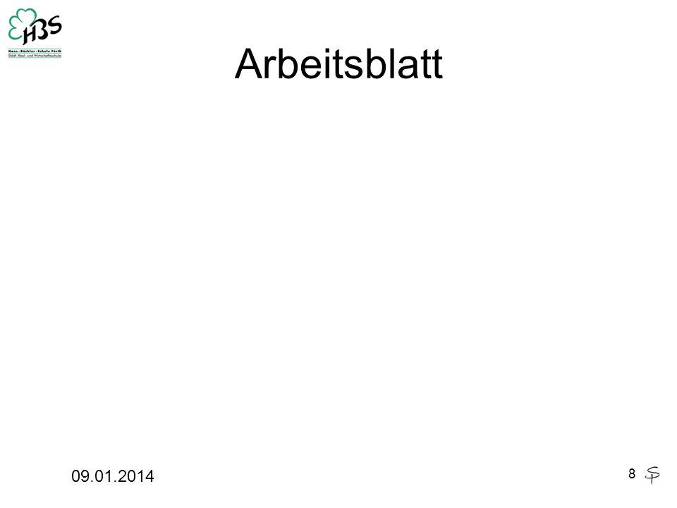 Arbeitsblatt 09.01.2014 8