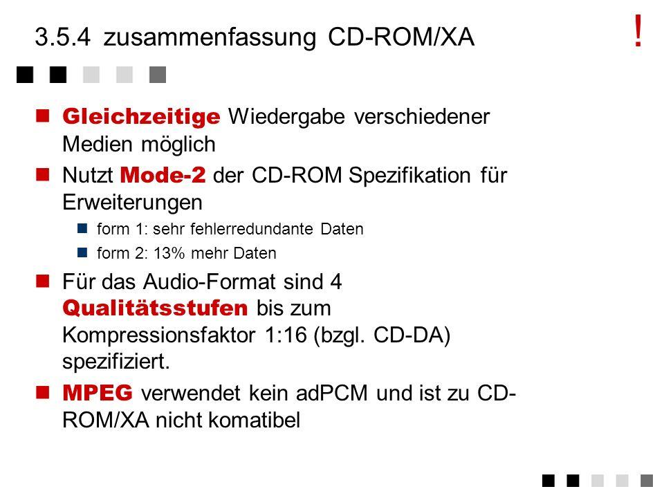 3.5.3daten innerhalb der forms Audiodaten mit ADPCM (adaptive Difference Pulse Modulation) komprimiert Differenz wird jeweil mit 4 bit kodiert 19 Stun