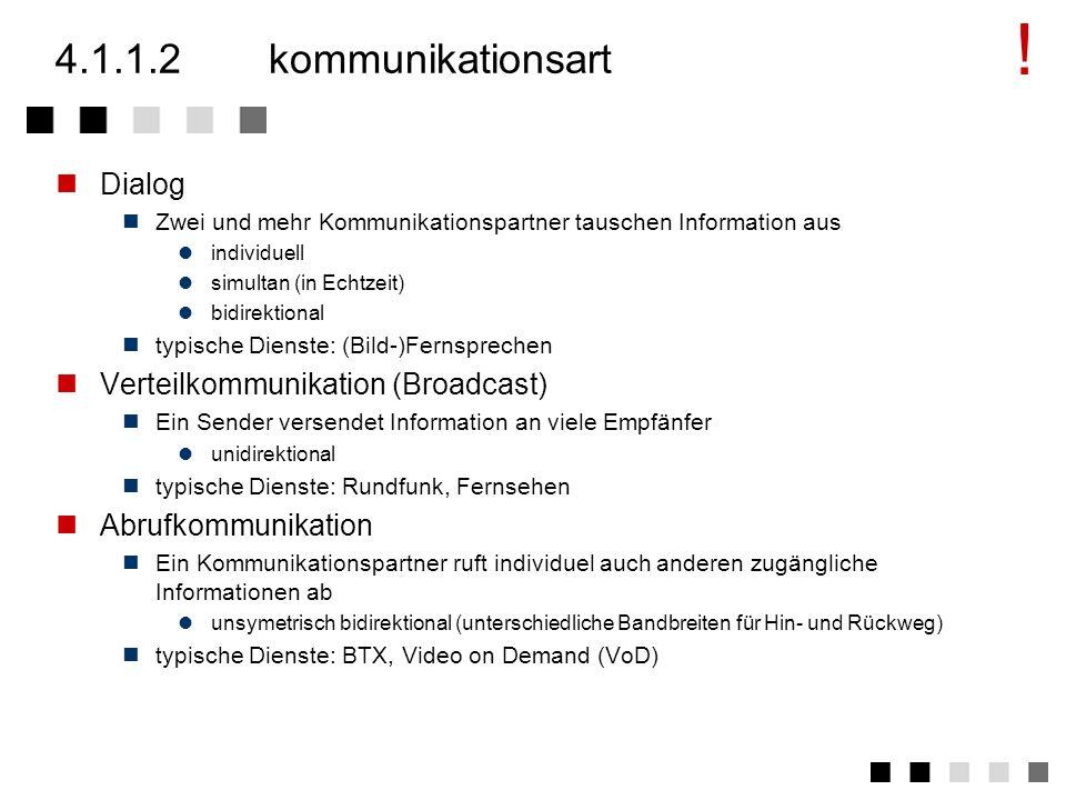4.1.1.1informationsart Aggregatzustände der Information Sprache Text Bild (bewegt, stehend) Daten Informationsarten Nutzinformation Steuer- und Signal