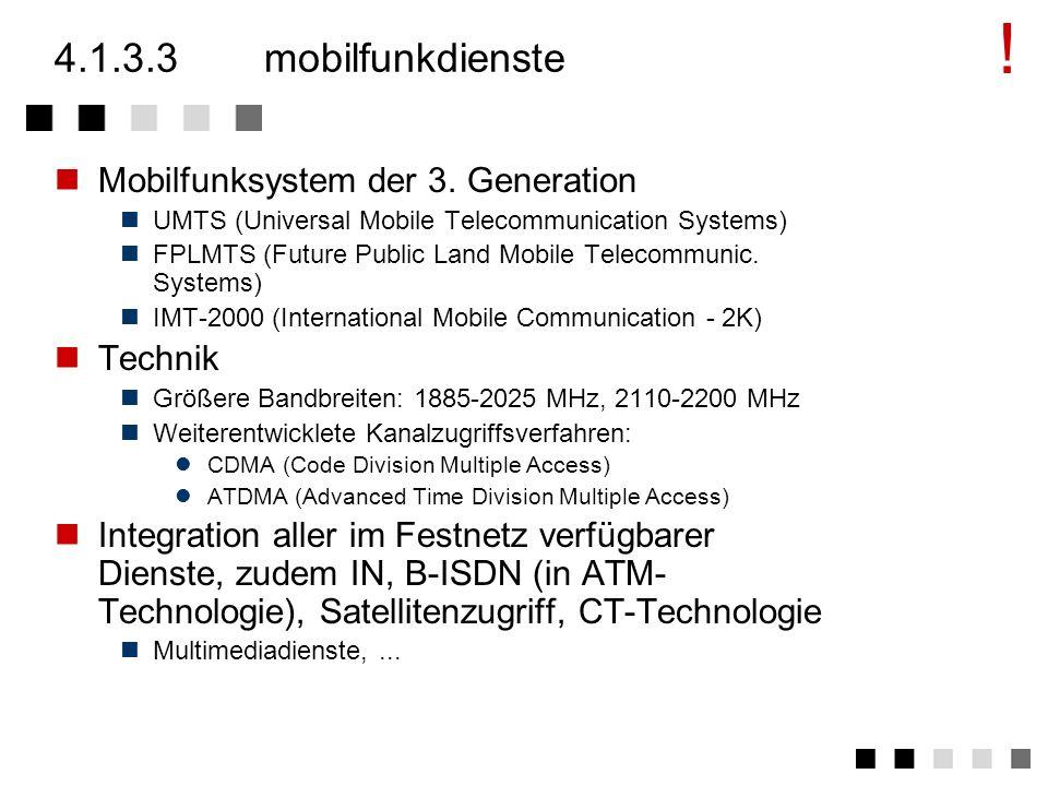 4.1.3.2historisches: zusammenhänge Breitband - ISDN
