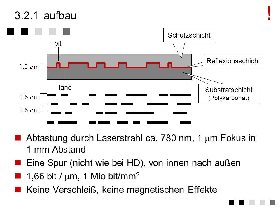 3.2basistechnologie (read only) aufbau ausprägungen digitale informationsdarstellung problem: zugriffsgeschwindigkeit zusammenfassung basistechnologie
