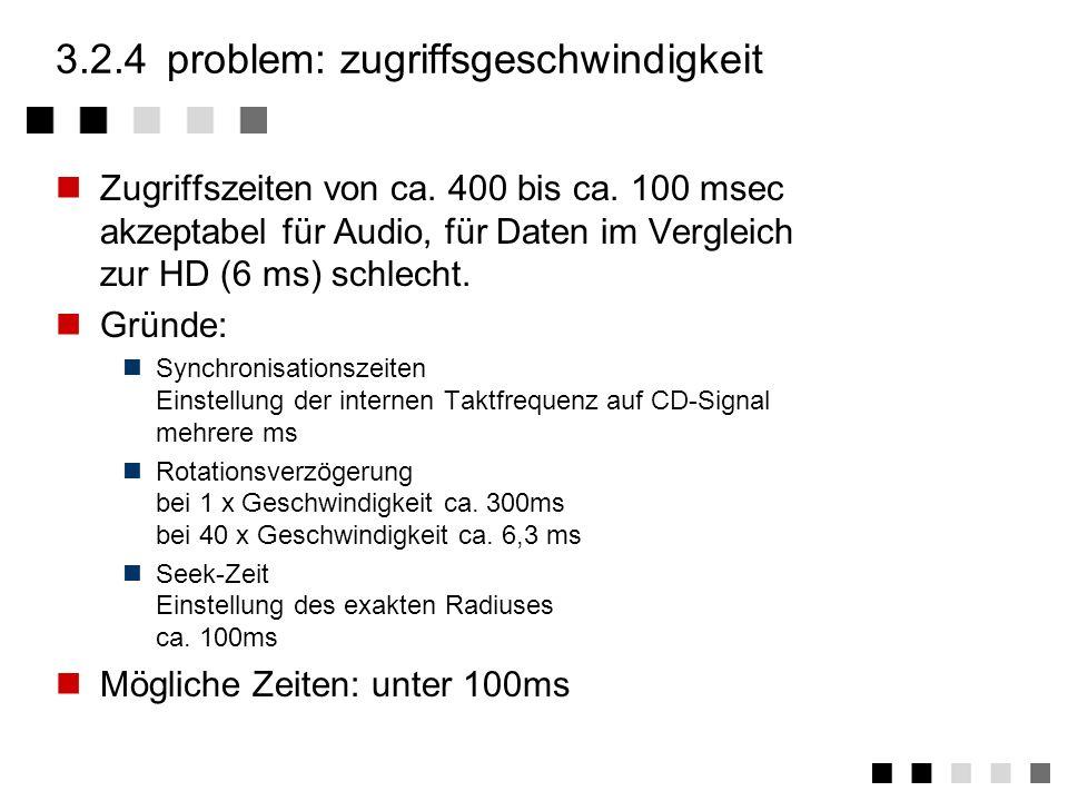 3.2.3digitale informationsdarstellung Kodierung pits und lands kodieren logische Nullen Flanken zwischen pit/land bzw. land/pit kodiereb logische Eins