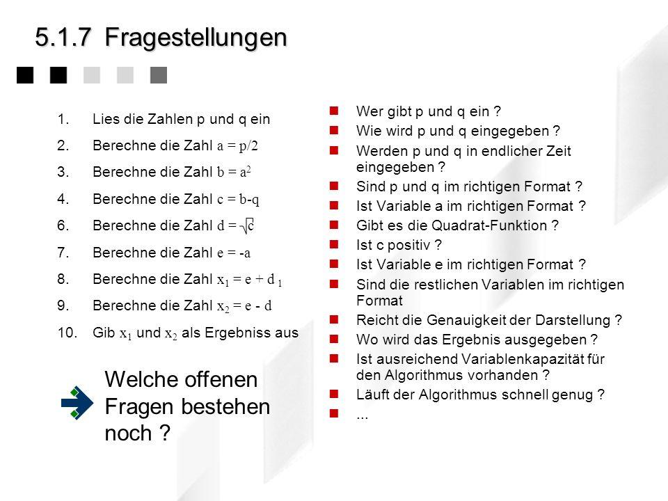 5.6.6Beispiel: Backtracking Weg des Springers Gegeben sei ein n x n Spielbrett (z.B.