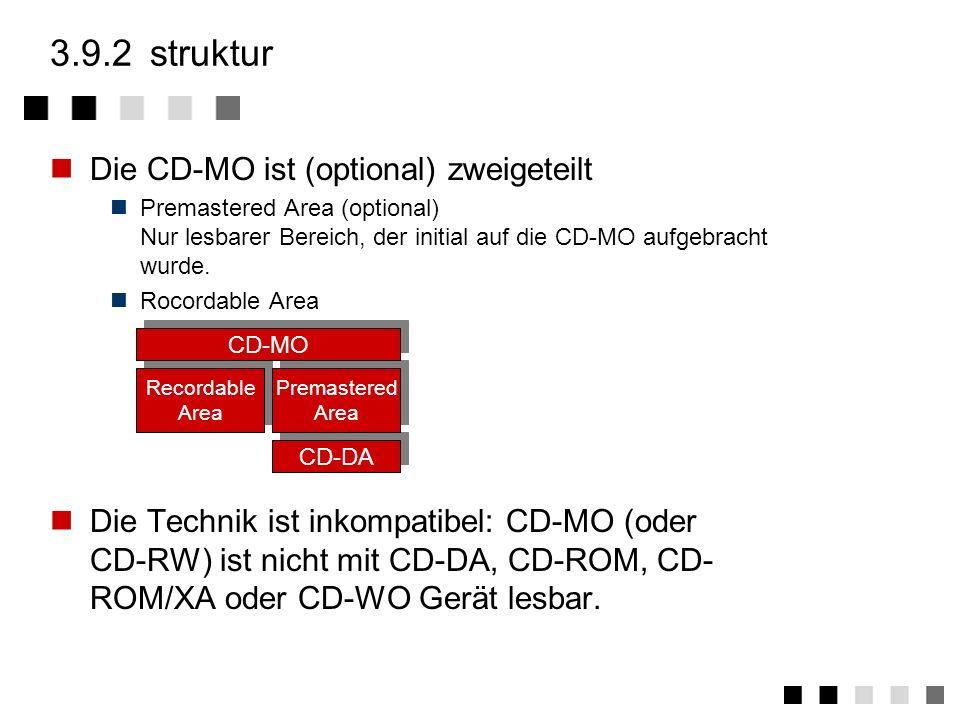 3.9.1ansatz Spezifiziert im Orange book (erster Teil) 1991 Ermöglicht mehrmaliges Schreiben der CD Physikalischer Ansatz Bei hohen Temperaturen lassen