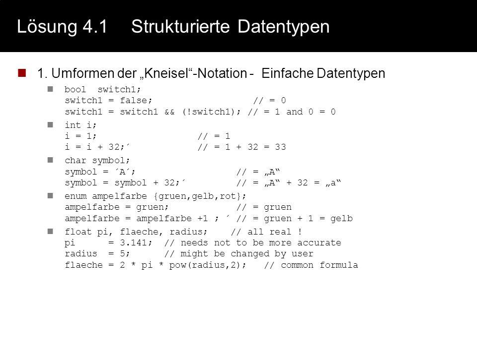 Lösung 3.3IEEE 754