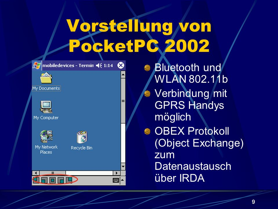 20 PocketPC vs.