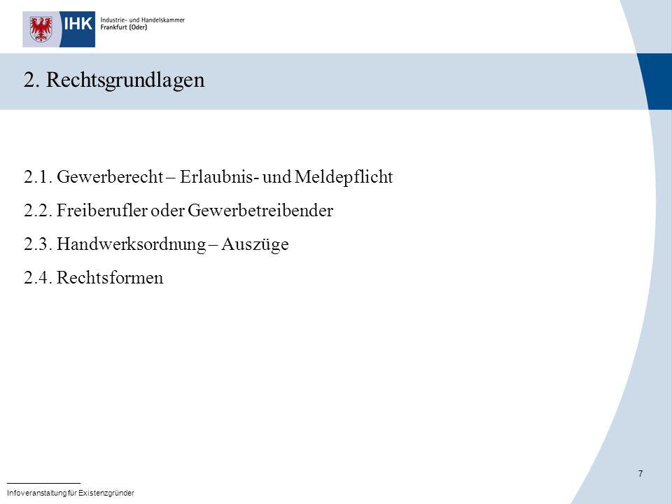 8 _______________ Infoveranstaltung für Existenzgründer Bildquelle: DFB