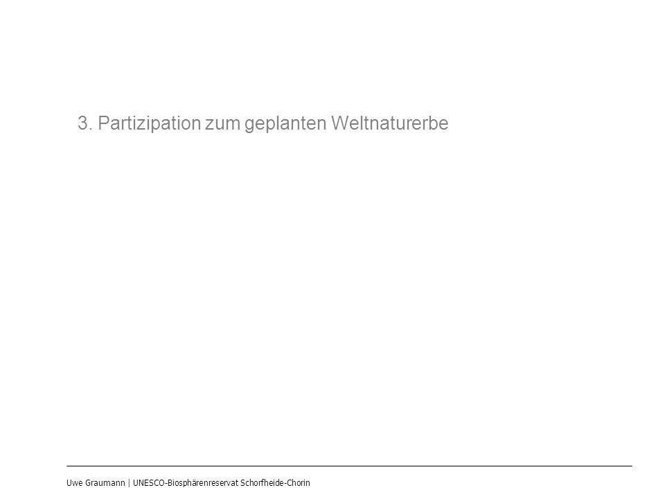 Uwe Graumann | UNESCO-Biosphärenreservat Schorfheide-Chorin 3. Partizipation zum geplanten Weltnaturerbe