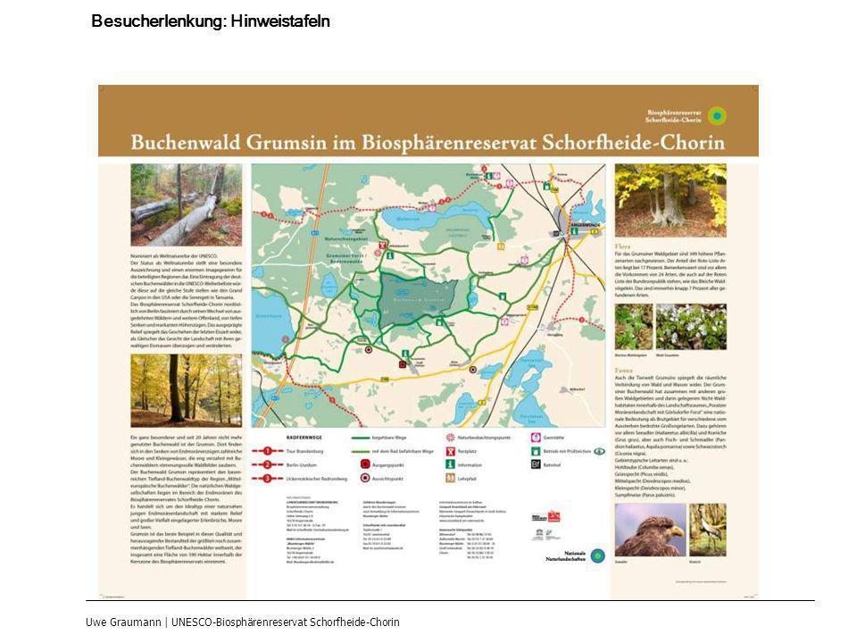 Uwe Graumann | UNESCO-Biosphärenreservat Schorfheide-Chorin Besucherlenkung: Hinweistafeln