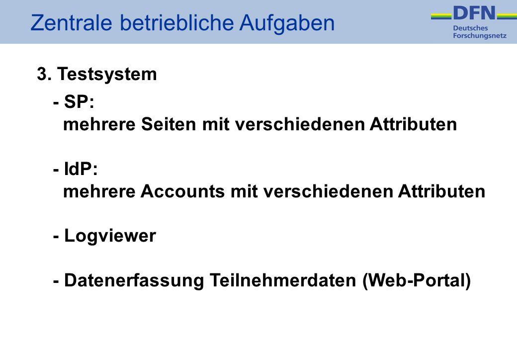 Zentrale betriebliche Aufgaben 3.