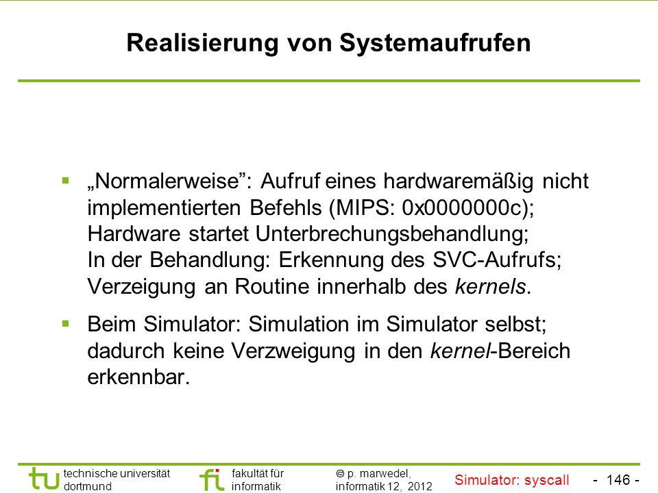 - 145 - technische universität dortmund fakultät für informatik p. marwedel, informatik 12, 2012 Einleitung + ISA TU Dortmund Beispiel der Anwendung.d