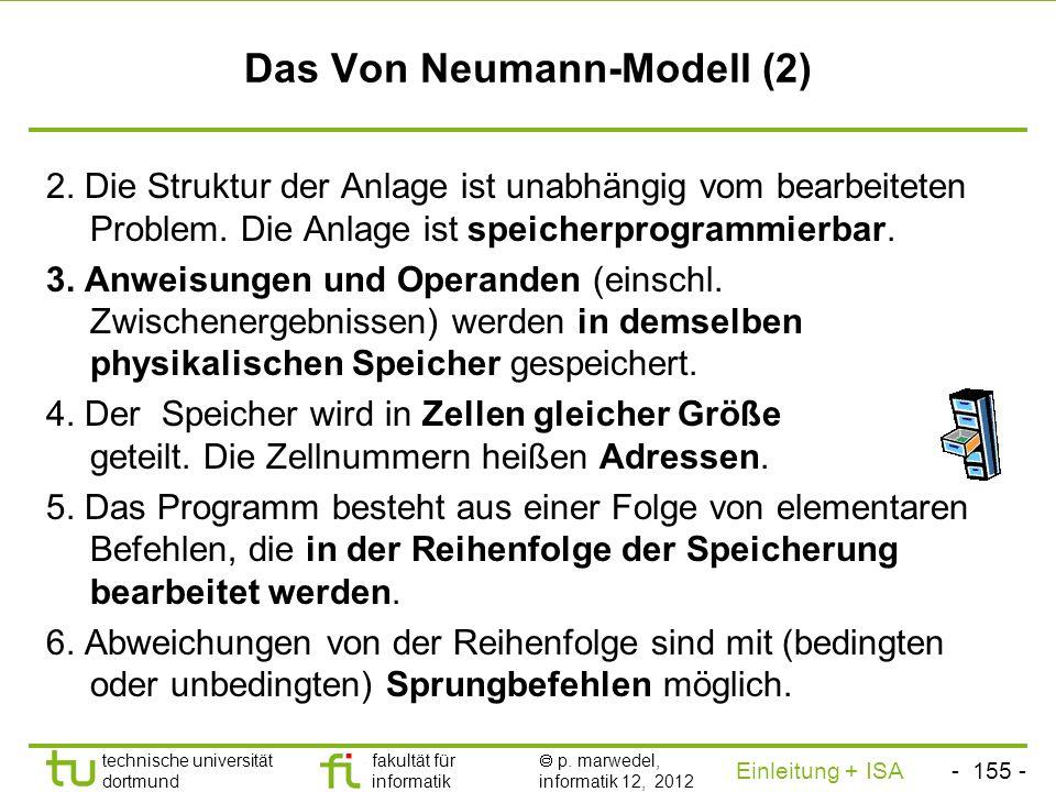 - 154 - technische universität dortmund fakultät für informatik p. marwedel, informatik 12, 2012 Einleitung + ISA TU Dortmund Wo sind diese Komponente