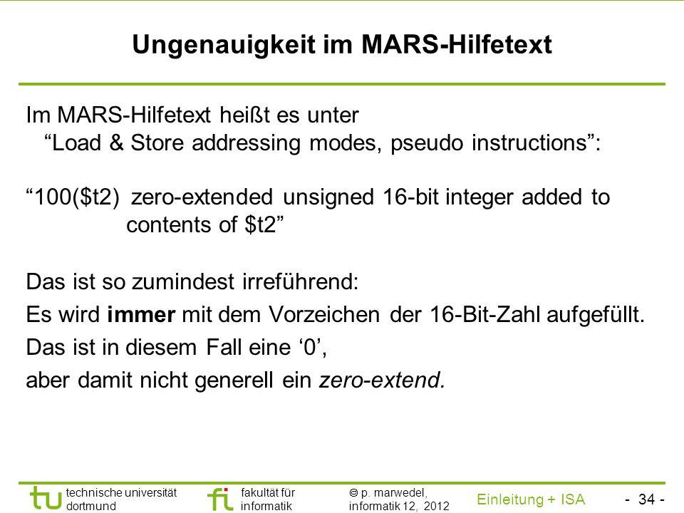 - 33 - technische universität dortmund fakultät für informatik p. marwedel, informatik 12, 2012 Einleitung + ISA TU Dortmund Auswirkung der Nutzung vo