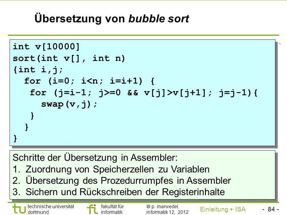 - 83 - technische universität dortmund fakultät für informatik p. marwedel, informatik 12, 2012 Einleitung + ISA TU Dortmund Rückschreiben der Registe