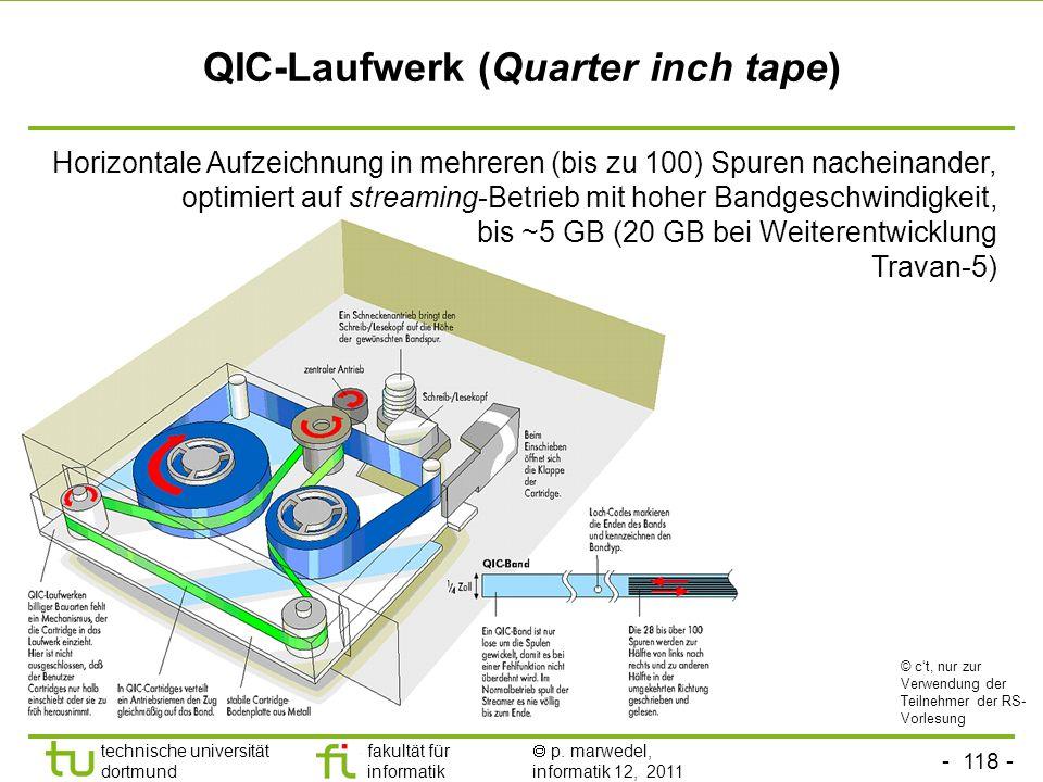 - 117 - technische universität dortmund fakultät für informatik p. marwedel, informatik 12, 2011 Annahme: Transport einer Blu-ray, als Dual Layer besc