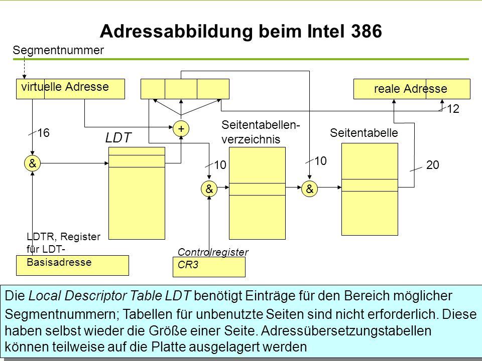 - 45 - technische universität dortmund fakultät für informatik p. marwedel, informatik 12, 2011 Segmentadressierung mit Seitenadressierung Segmentnumm