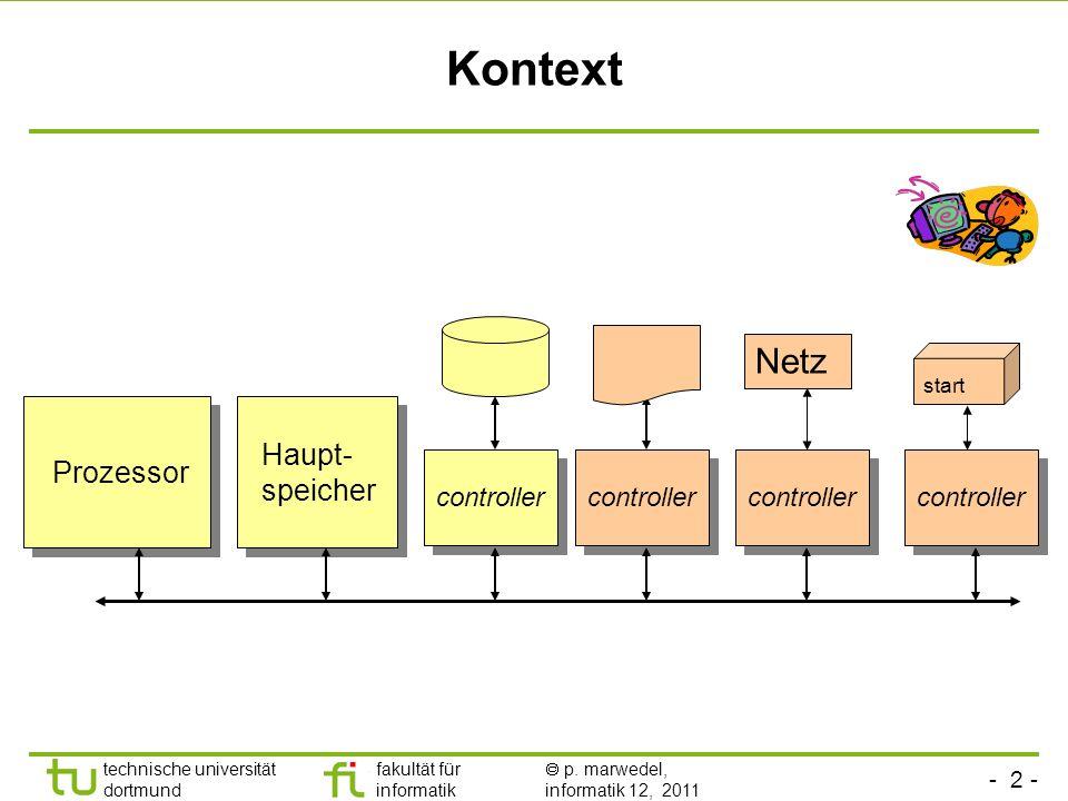 fakultät für informatik informatik 12 technische universität dortmund 2.5 Kommunikation, Ein-/Ausgabe (E/A) - engl. input/output (I/O) - WAV-Sound