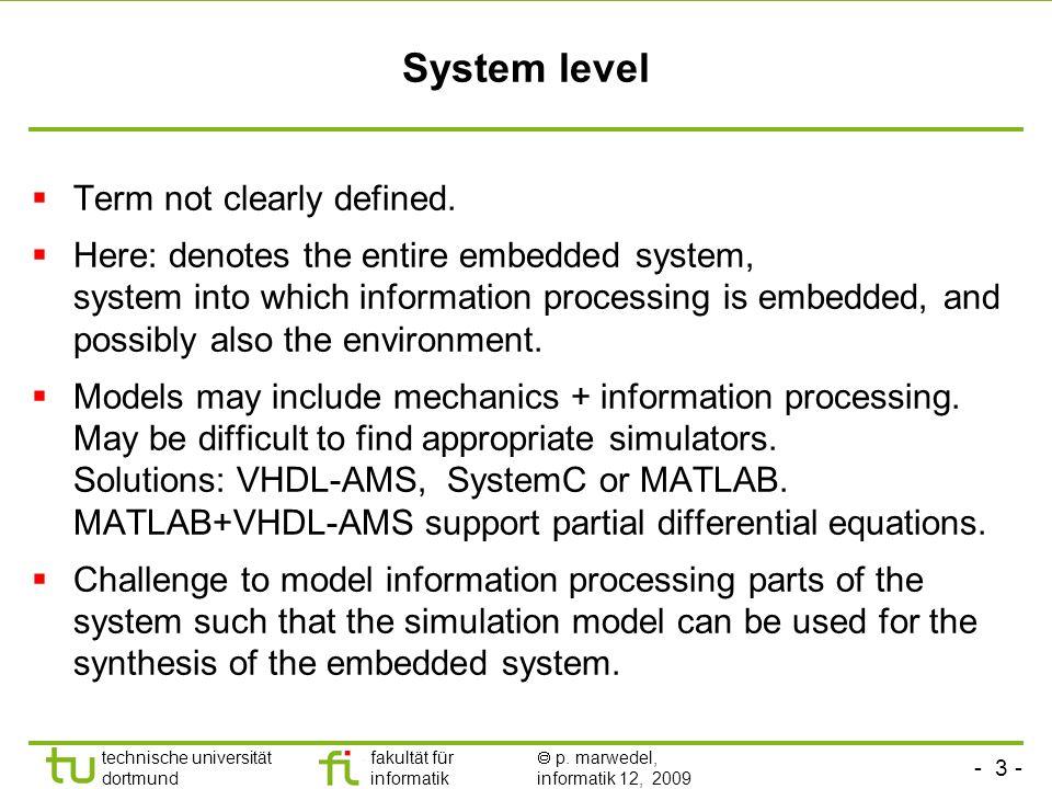 - 14 - technische universität dortmund fakultät für informatik p.