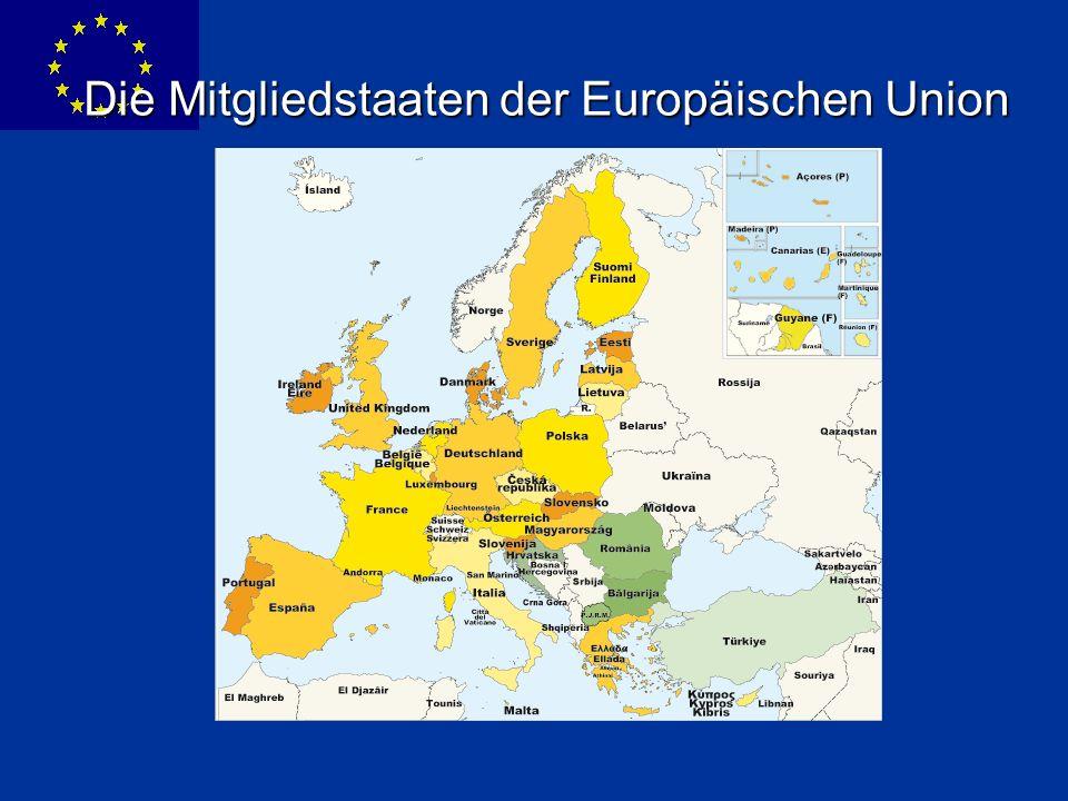 ENLARGEMENT DG Die Mitgliedstaaten der Europäischen Union