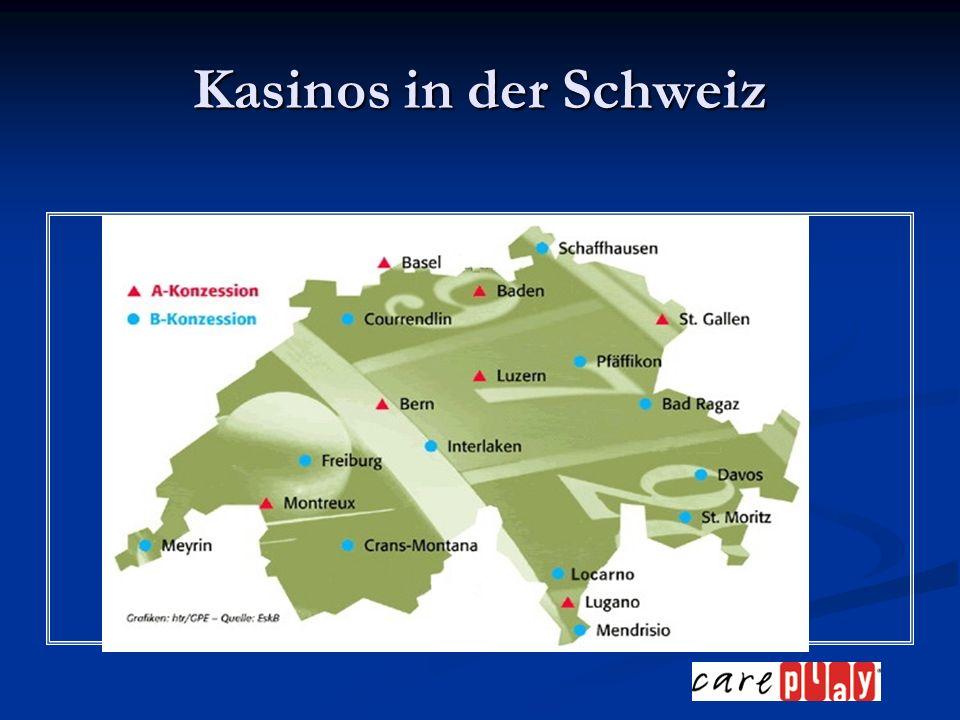 Kasinos in der Schweiz