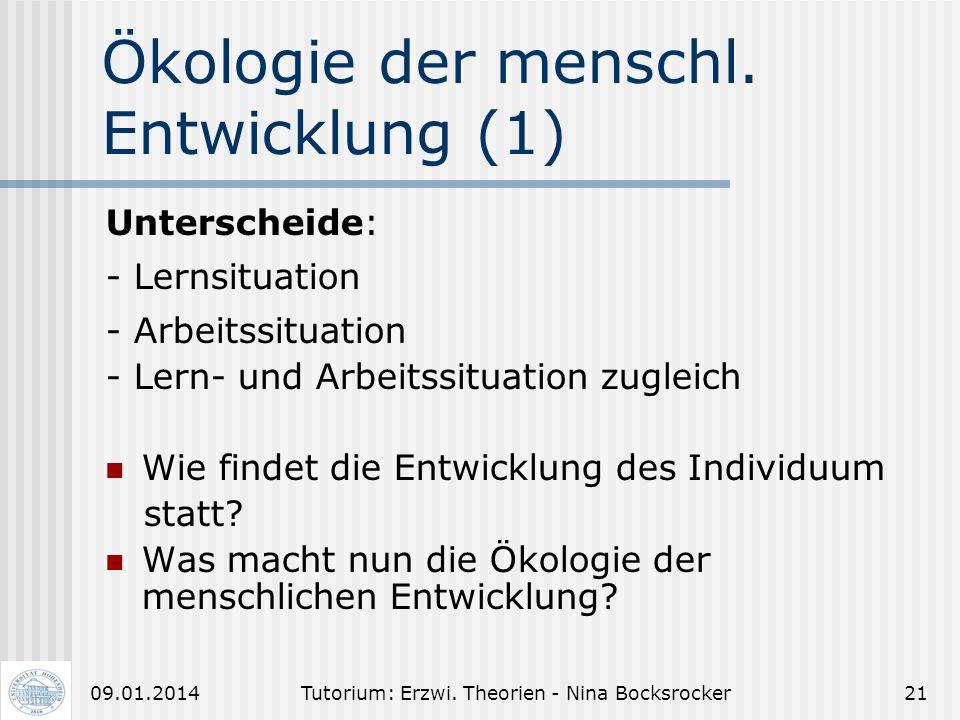 Tutorium: Erzwi. Theorien - Nina Bocksrocker2009.01.2014 Hermeneutik (5) Kritik am Verstehen als Methode: - Verstehen ist willkürlich - Verstehen ist