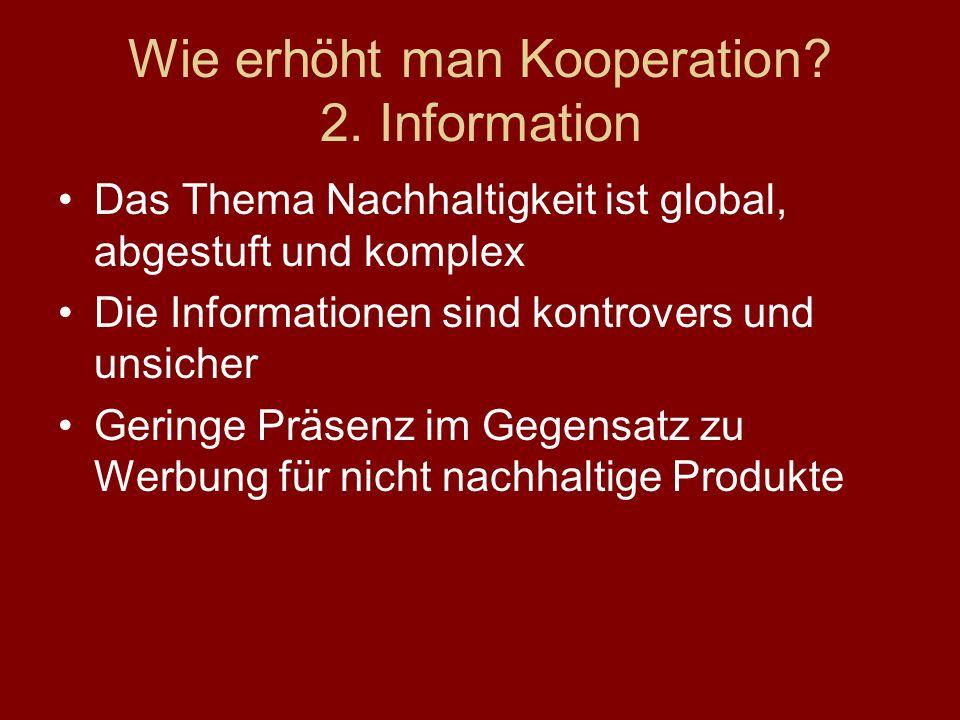 Wie erhöht man Kooperation.2.