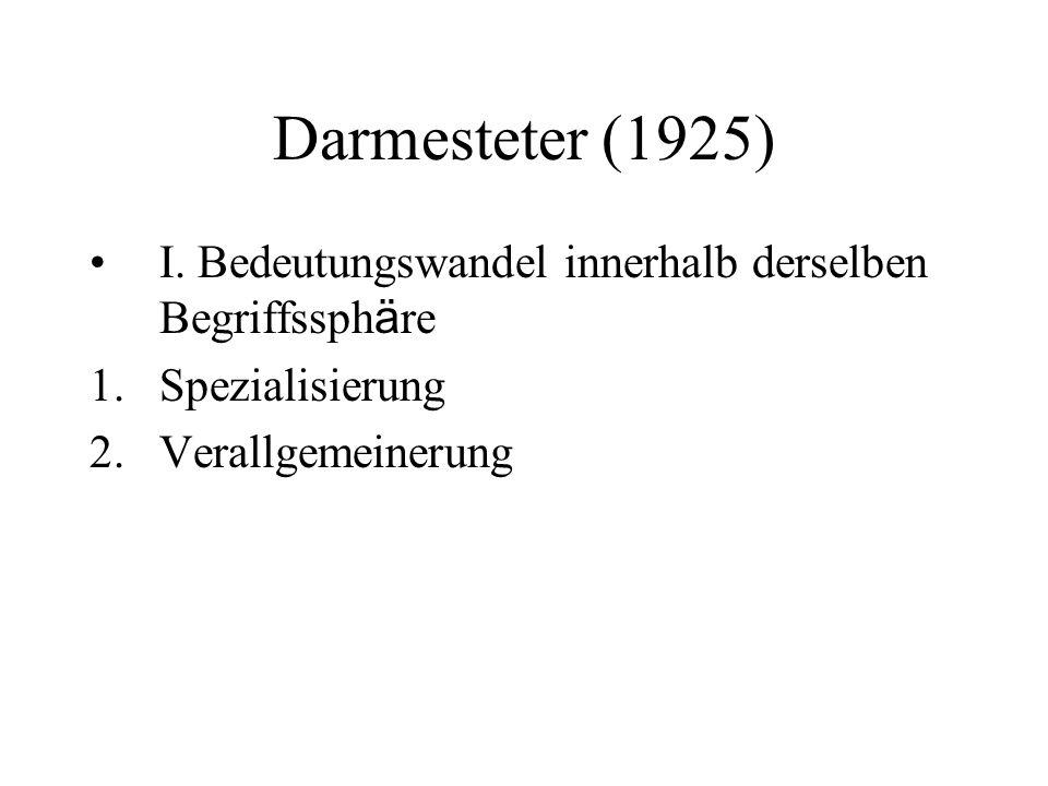 Darmesteter (1925) I.